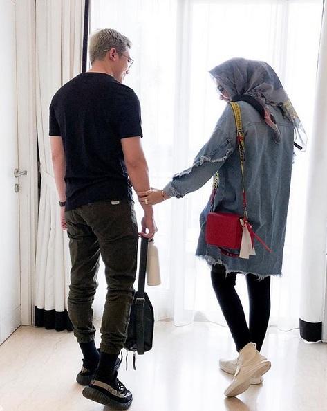 Zaskia Sungkar dan Irwansyah tetap bersyukur meski belum dikaruniai buah hati.