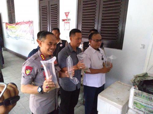 Penyelundupan Baby Lobster di Jambi digagalkan petugas