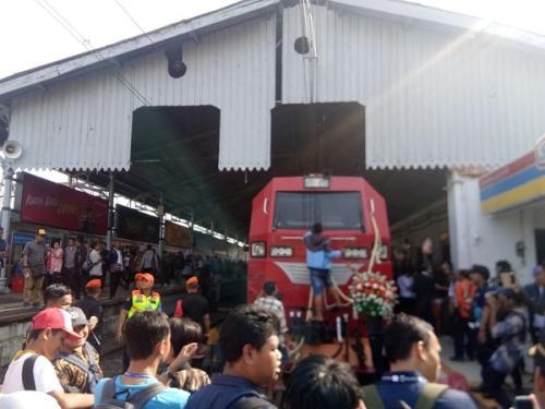 KA Pangrango rute Bogor-Sukabumi. (Foto : Putra Ramadhani Astyawan/Okezone)