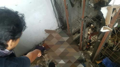 Lokasi Penemuan Mayat Korban Mutilasi di Pasar Besar Kota Malang, Jawa Timur (foto: Avirista Midaada/Okezone)