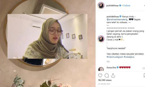 Putri Sule Instagram