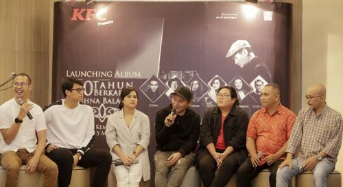Krishna Balagita, mantan personel ADA Band rilis album kompilasi bersama deretan penyanyi muda Tanah Air. (Foto: Okezone/Ady Prawira Riandi).