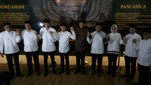 AHY bertemu kepala daerah di Bogor