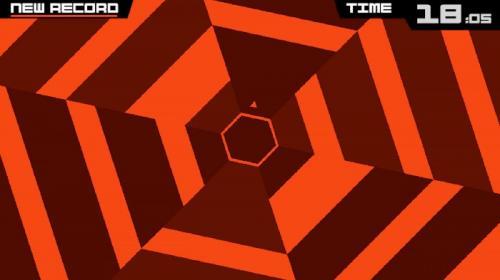 Game Puzzle Super Hexagon