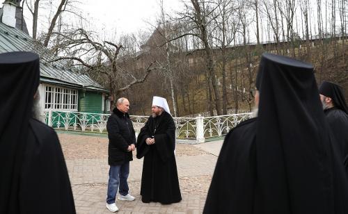 Putin dalam kunjungannya