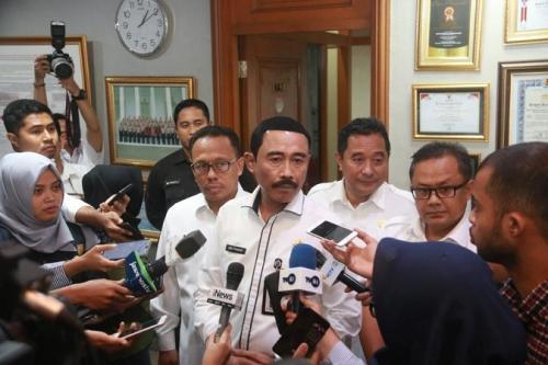 Sekjen Kemendagri Hadi Prabowo. (Puspen Kemendagri)