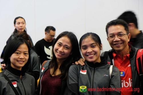 Tim Indonesia di Piala Sudirman 2019