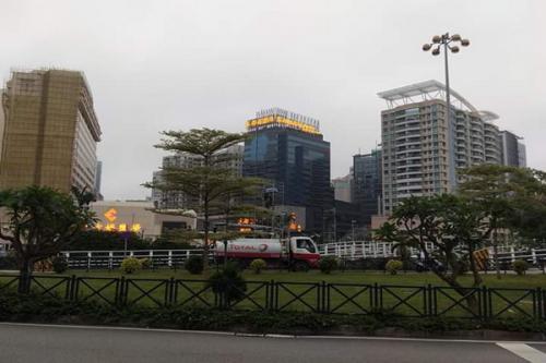Deretan Gedung Tinggi di Macau