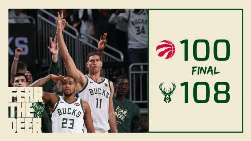 Bucks vs Raptors