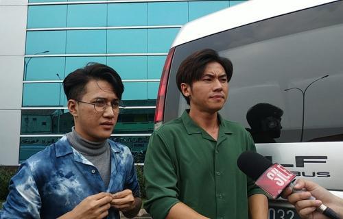 Rafael dan Dicky membeberkan rencana perilisan album terbaru Smash. (Foto: Okezone/Ady Riandi Prawira)