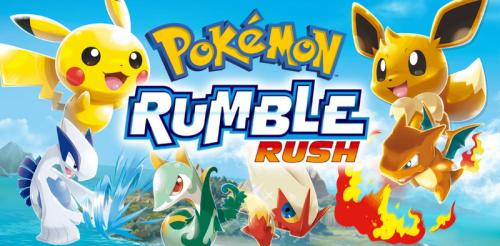 Pokemon Rumble Rush Meluncur di Android