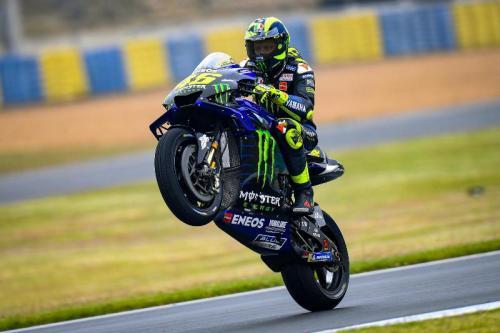 Valentino Rossi tampil impresif pada dua babak kualifikasi (Foto: MotoGP)
