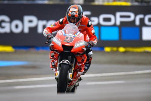 Danilo Petrucci akan memulai balapan dari posisi dua (Foto: MotoGP)