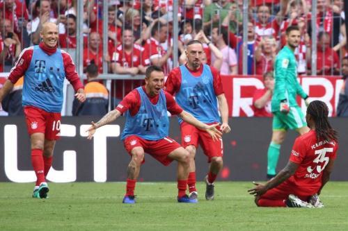 Bayern Munich vs Frankfurt