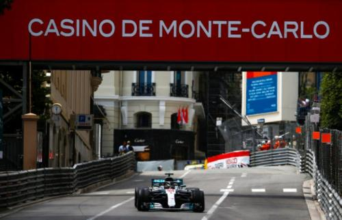F1 GP Monaco 2018 (Foto: Laman resmi Mercedes F1)