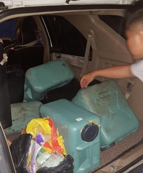 Penyelundupan 50 kg sabu dan 23 ribu butir ekstasi di Riau. (Dok BNN)