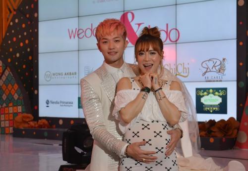 Lee Jeong Hoon dan Moa. (Foto: Okezone)