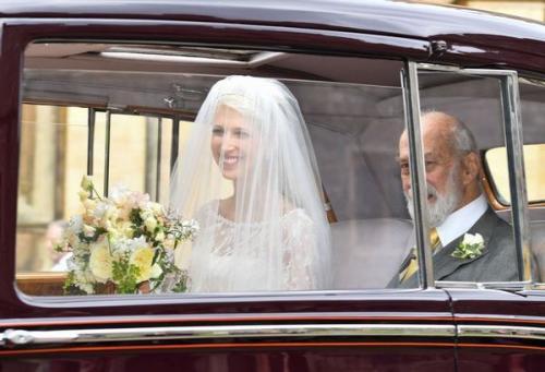 Lady Gabriella Windsor dan Thomas Kingston resmi mengucapkan janji sehidup semati