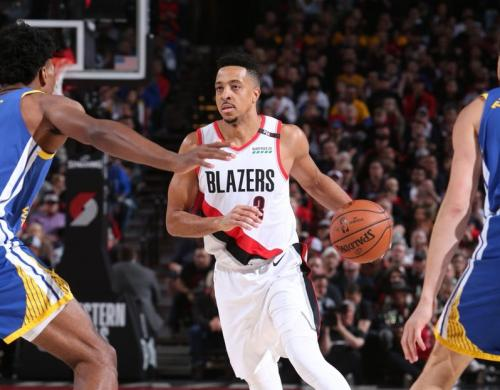 Blazers vs Warriors