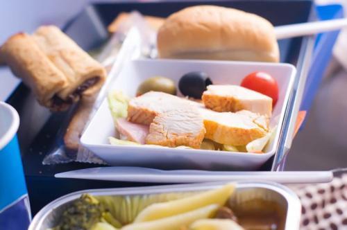 makanan di pesawat bikin iri