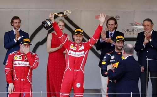 F1GP Monaco 2017