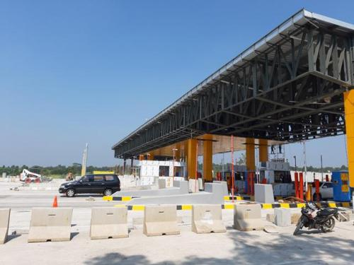 Gerbang Tol Cikampek Utama. (Foto: Mulyana/Okezone)