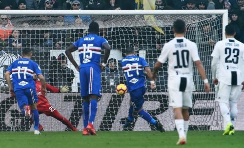 Fabio Quagliarella tajam di Sampdoria (Foto: Sampdoria)
