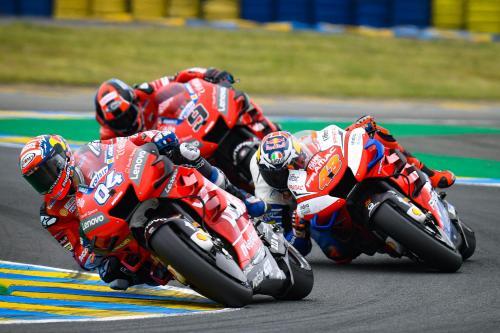 Andrea Dovizioso, Jack Miller, dan Danilo Petrucci (Foto: MotoGP)