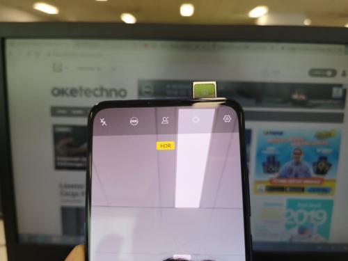 Menjajal ponsel Vivo V15 Pro