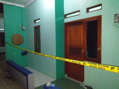 Lokasi Penangkapan Terduga Teroris di Depok (foto: Wahyu M/Okezone)
