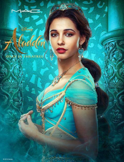 Penampilan Naomi Scott dalam film live-action Aladdin sempat mendapatkan penolakan dari fans Disney. (Foto: Disney)