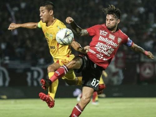 Bali United vs Bhayangkara FC (Foto: Bali United/Instagram)