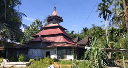 Masjid Raya Belimbimg saksi penyebaran ajaran Islam yang menganut aliran Syattariyah (foto: Rus Akbar/Okezone)