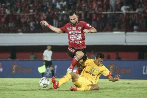 Bali United vs Bhayangkara FC (Foto: Bali United/Twitter)