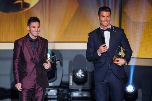 Leo Messi dan C Ronaldo