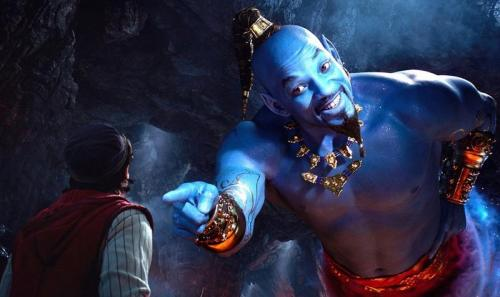 Will Smith di Aladdin