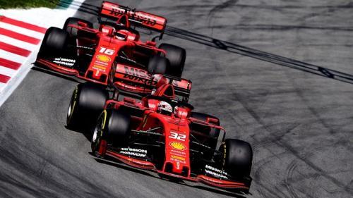 Sebastian Vettel dan Charles Leclerc (Foto: Scuderia Ferrari/Twitter)