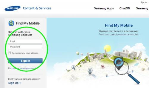 Malacak ponsel Android Anda yang hilang