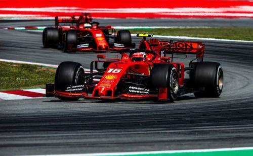 Leclerc x Vettel