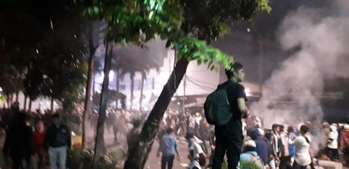 Bentrok Massa Aksi 22 Mei