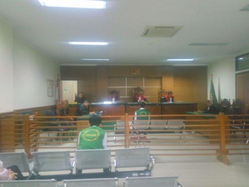 Sidang Vonis Pemasok 63 Ribu Butir Ekstasi ke Tempat Hiburan di Cilegon (foto: Rasyid Ridho/Okezone)