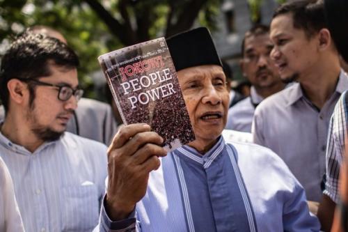 Amien Rais buku Jokowi People Power (Ant)