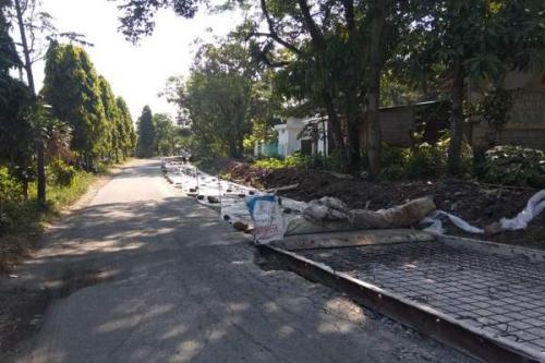 Jalur Mudik Boyolali Sedang Diperbaiki (foto: Solopos)