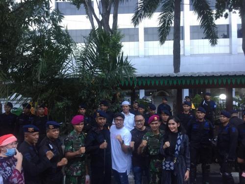 Dukungan ke TNI-Polri