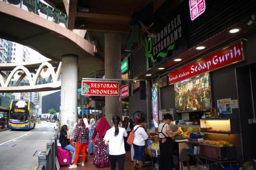 Restoran Indonesia di Hong Kong