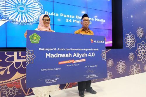 XL Axiata dan Kementerian Agama Luncurkan Program Madrasah Aliyah 4.0
