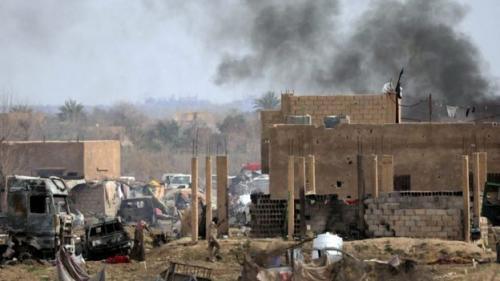 Desa Baghouz di Irak pernah dikuasai ISIS. (Foto: Reuters)