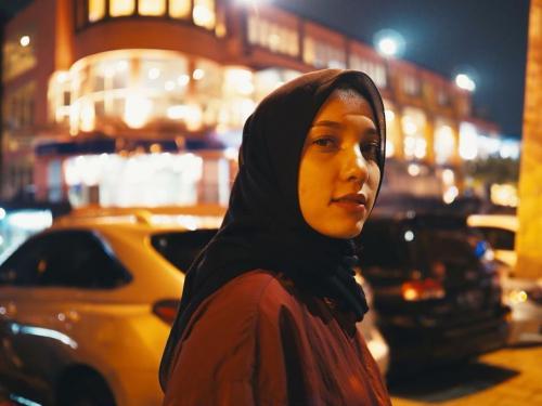 Jenahara hijab hitam