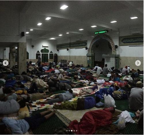 Itikaf di Masjid Ini Harus Reservasi