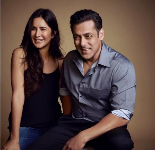 Setelah membatalkan pernikahannya, Katrina Kaif sempat mengisi hari-hari Salman Khan. (Foto: Instagram/@beingsalmankhan)